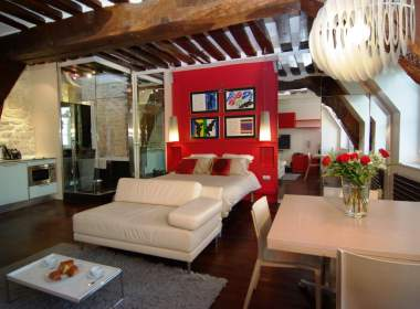 0-Ile Saint Louis-Paris-Seine river- Short term rental -Apartment-Asteri
