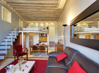 0- Ile Saint Louis-Paris-Seine river- Short term rental-Vacation stay-Daisy