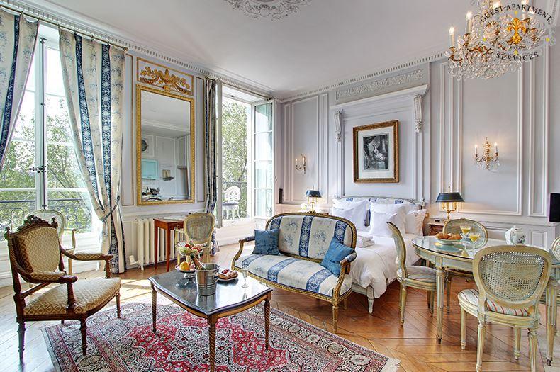 Acacia Luxury Apartment Rental In Paris Ile Saint Louis