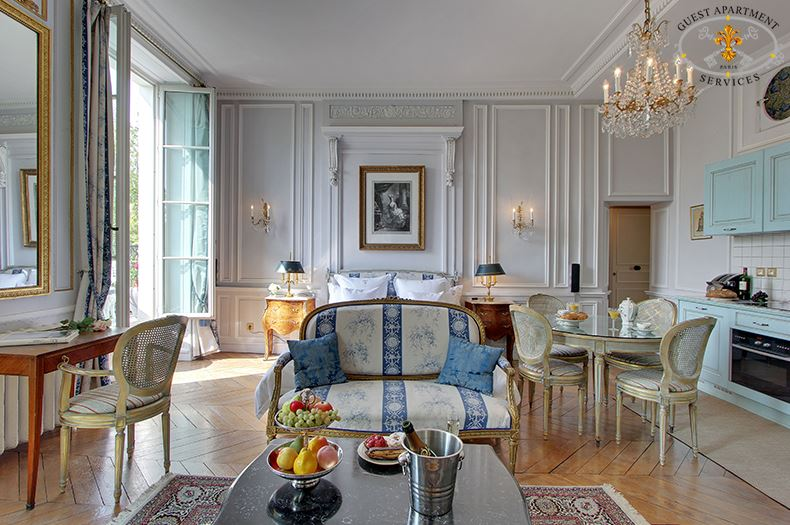 ACACIA, Luxury apartment rental in Paris Ile Saint Louis