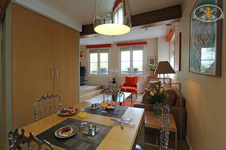 JASMIN Cosy Apartment In The Sky Of Paris Ile Saint Louis