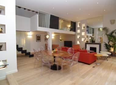 0-Contemporary apartment on Ile Saint Louis Paris-Bonzai