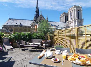 0-Notre Dame Luxury Apartment Ile de la Cité Paris