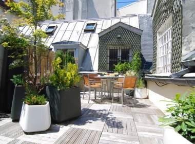 Terrace Apartment on Ile Saint Louis Paris