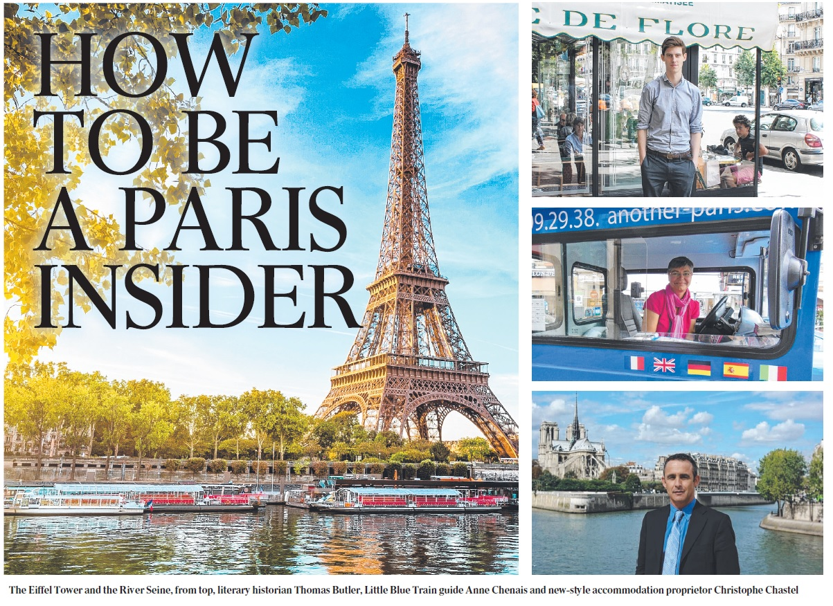 ARTICLE hOW TO be a paris insider