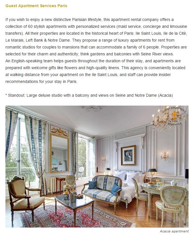 Bonjour Paris Article