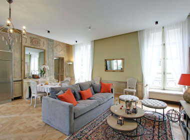 3-paris apartment enatl ile st louis