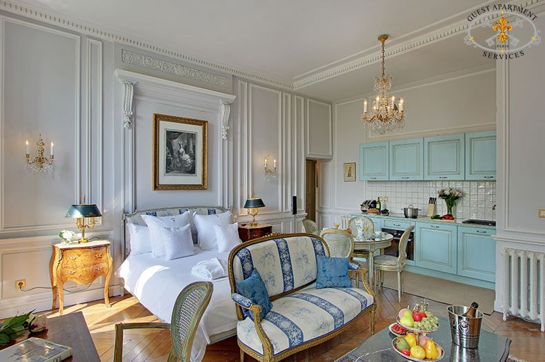13 Ile Saint Louis Paris Short Term Rental Studio Properties Luxury Acacia